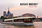 巴黎塞纳河游船票 Bateaux Mouches