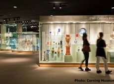 european_glass_display_corning_museum_of_glass_corning_new_york