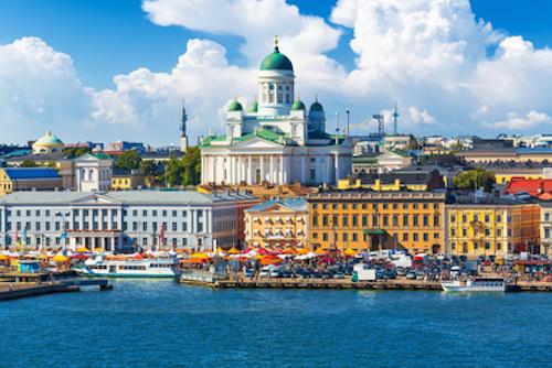 赫尔辛基旧城区