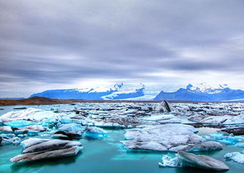 杰古沙龙冰湖