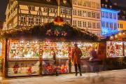 【德法圣诞温泉团3日】巴黎出发,12月27日确认发,每人仅178欧起,圣诞温泉休闲游,两晚市中心酒店包拼房(12月27日),充分时间游览斯堡圣诞集市,感受圣诞氛围,途经斯特拉斯堡,巴登巴登、德国滴滴湖、科尔马