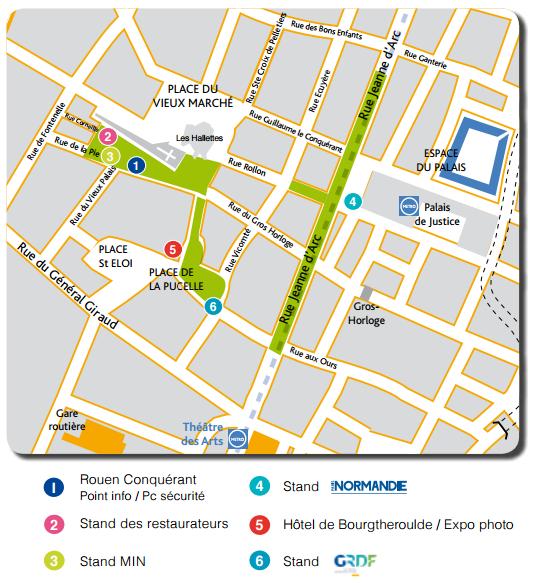 rouen地图