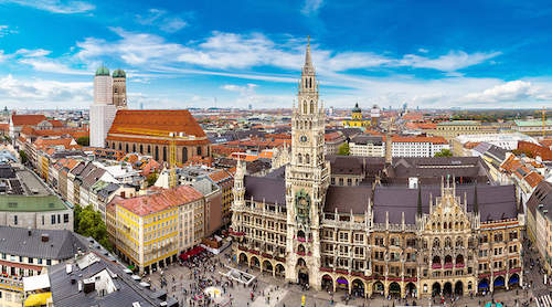 巴伐利亚电影城与城市观光